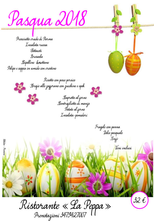 Pasqua-2018 La Peppa Premana