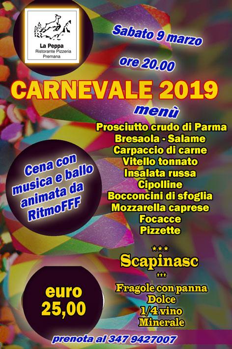 carnevale-2019 la peppa premana valsassina